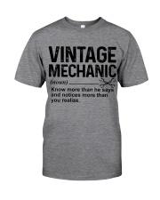 VINTAGE MECHANIC Classic T-Shirt tile