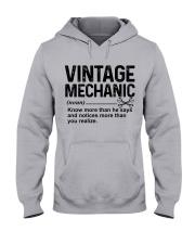 VINTAGE MECHANIC Hooded Sweatshirt front