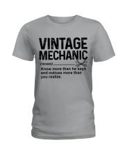 VINTAGE MECHANIC Ladies T-Shirt tile