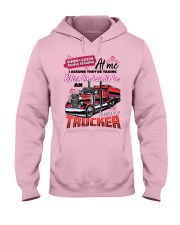 Lady Trucker -  Hooded Sweatshirt front