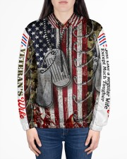 VETERAN'S WIFE Women's All Over Print Hoodie aos-complex-women-hoodie-lifestyle-front-01