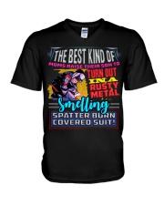 BEST KIND OF WELDER'S MOM V-Neck T-Shirt thumbnail