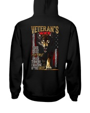 VETERAN'S WIFE - I'M THE WOLF   Hooded Sweatshirt thumbnail
