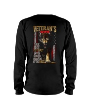 VETERAN'S WIFE - I'M THE WOLF   Long Sleeve Tee thumbnail