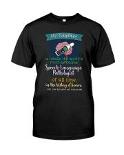 PROUD SLP'S  MOM Classic T-Shirt front