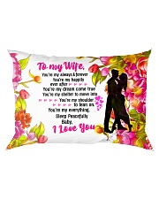 GIFT FOR A WIFE - PREMIUM Rectangular Pillowcase front