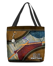KNITTER All-over Tote front