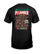 PLUMBERS  vs ENGINEERS Classic T-Shirt back