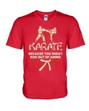 KARATE V-Neck T-Shirt thumbnail