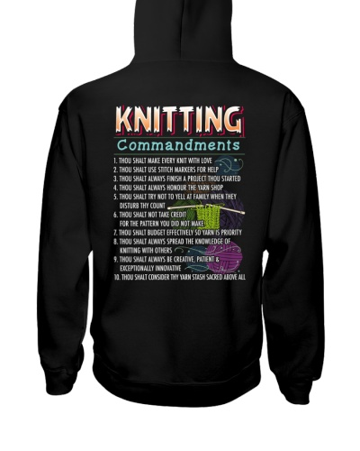 KNITTING COMMANDMENTS