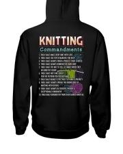 KNITTING COMMANDMENTS Hooded Sweatshirt thumbnail
