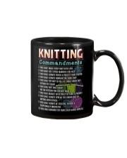 KNITTING COMMANDMENTS Mug thumbnail