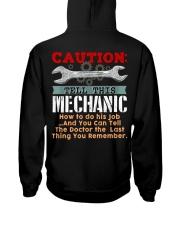 MECHANIC Hooded Sweatshirt back