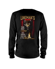 LINEMAN'S WIFE - I'M THE WOLF   Long Sleeve Tee tile