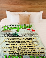 "Farmer's Daughter  Premium Large Fleece Blanket - 60"" x 80"" aos-coral-fleece-blanket-60x80-lifestyle-front-02"
