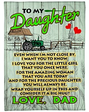"Farmer's Daughter  Premium Large Fleece Blanket - 60"" x 80"" front"