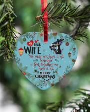 Lineman's Wife - Heart ornament - single (porcelain) aos-heart-ornament-single-porcelain-lifestyles-07