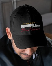 LADY TRUCKER Embroidered Hat garment-embroidery-hat-lifestyle-02