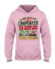 Carpenter's  Wife  Hooded Sweatshirt front