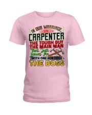 Carpenter's  Wife  Ladies T-Shirt tile