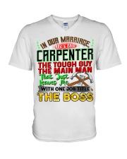 Carpenter's  Wife  V-Neck T-Shirt tile