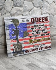 VETERAN'S WIFE - Premium 14x11 Gallery Wrapped Canvas Prints aos-canvas-pgw-14x11-lifestyle-front-13