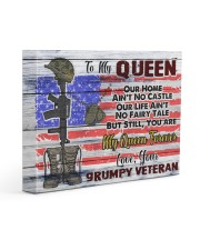 VETERAN'S WIFE - Premium 14x11 Gallery Wrapped Canvas Prints front
