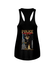 POLICE OFFICER'S   GIRLFRIEND - I'M THE WOLF   Ladies Flowy Tank thumbnail