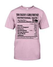 Trucker's Girlfriend Classic T-Shirt tile