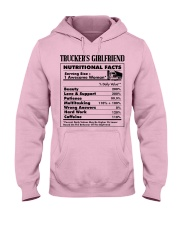 Trucker's Girlfriend Hooded Sweatshirt front