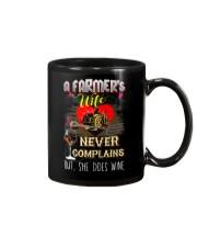 FARMER'S WIFE LOVES WINE Mug thumbnail
