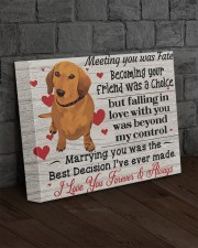 DACHSHUND LOVER - Premium 14x11 Gallery Wrapped Canvas Prints aos-canvas-pgw-14x11-lifestyle-front-11