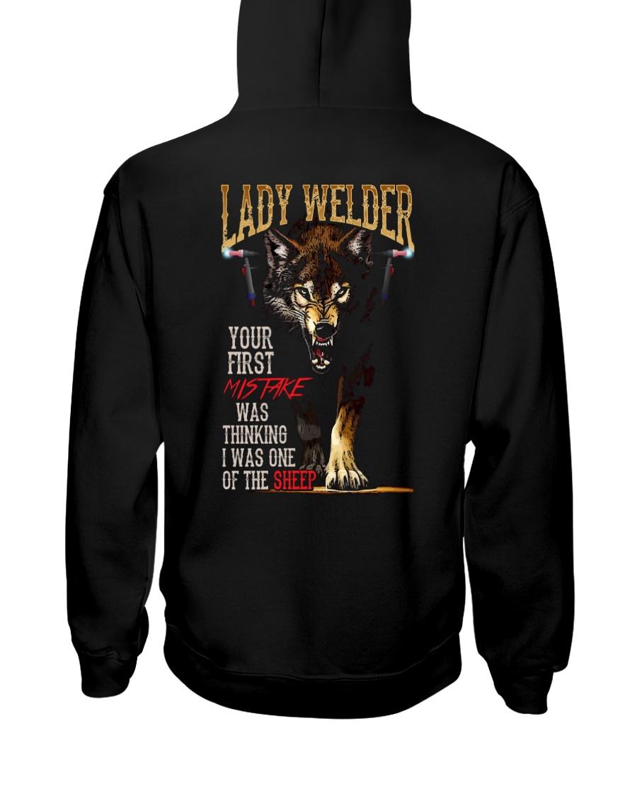 LADY WELDER  - I'M THE WOLF   Hooded Sweatshirt