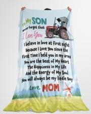 "Gift For Farmer  Premium Large Fleece Blanket - 60"" x 80"" aos-coral-fleece-blanket-60x80-lifestyle-front-10"