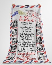 """Gift for a Trucker  Premium Large Fleece Blanket - 60"""" x 80"""" aos-coral-fleece-blanket-60x80-lifestyle-front-10"""