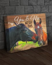 HORSE LOVERS - Premium 14x11 Gallery Wrapped Canvas Prints aos-canvas-pgw-14x11-lifestyle-front-11