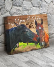 HORSE LOVERS - Premium 14x11 Gallery Wrapped Canvas Prints aos-canvas-pgw-14x11-lifestyle-front-13