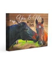 HORSE LOVERS - Premium 14x11 Gallery Wrapped Canvas Prints front