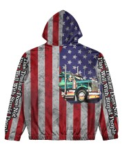 Trucker Women's All Over Print Hoodie back