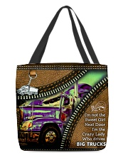 LADY TRUCKER All-over Tote front