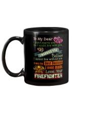 FIREFIGHTER'S WIFE  Mug back