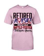 Retired Nurse Classic T-Shirt thumbnail