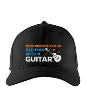 OLD GUITARIST Embroidered Hat front