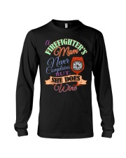 I AM A FIREFIGHTER'S MOM Long Sleeve Tee thumbnail