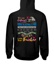 TRUCKER'S GIRLFRIEND Hooded Sweatshirt back