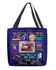 Sewing All-over Tote front