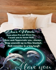 "GIFT FOR MOM  Premium Large Fleece Blanket - 60"" x 80"" aos-coral-fleece-blanket-60x80-lifestyle-front-02"