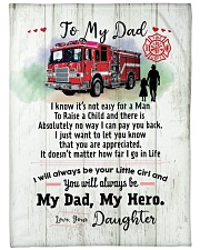 """Gift for Dad Large Fleece Blanket - 60"""" x 80"""" front"""