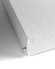 BARTENDER - Premium 14x11 Gallery Wrapped Canvas Prints aos-canvas-pgw-closeup-02