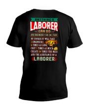 LABORERS  vs ENGINEERS V-Neck T-Shirt thumbnail